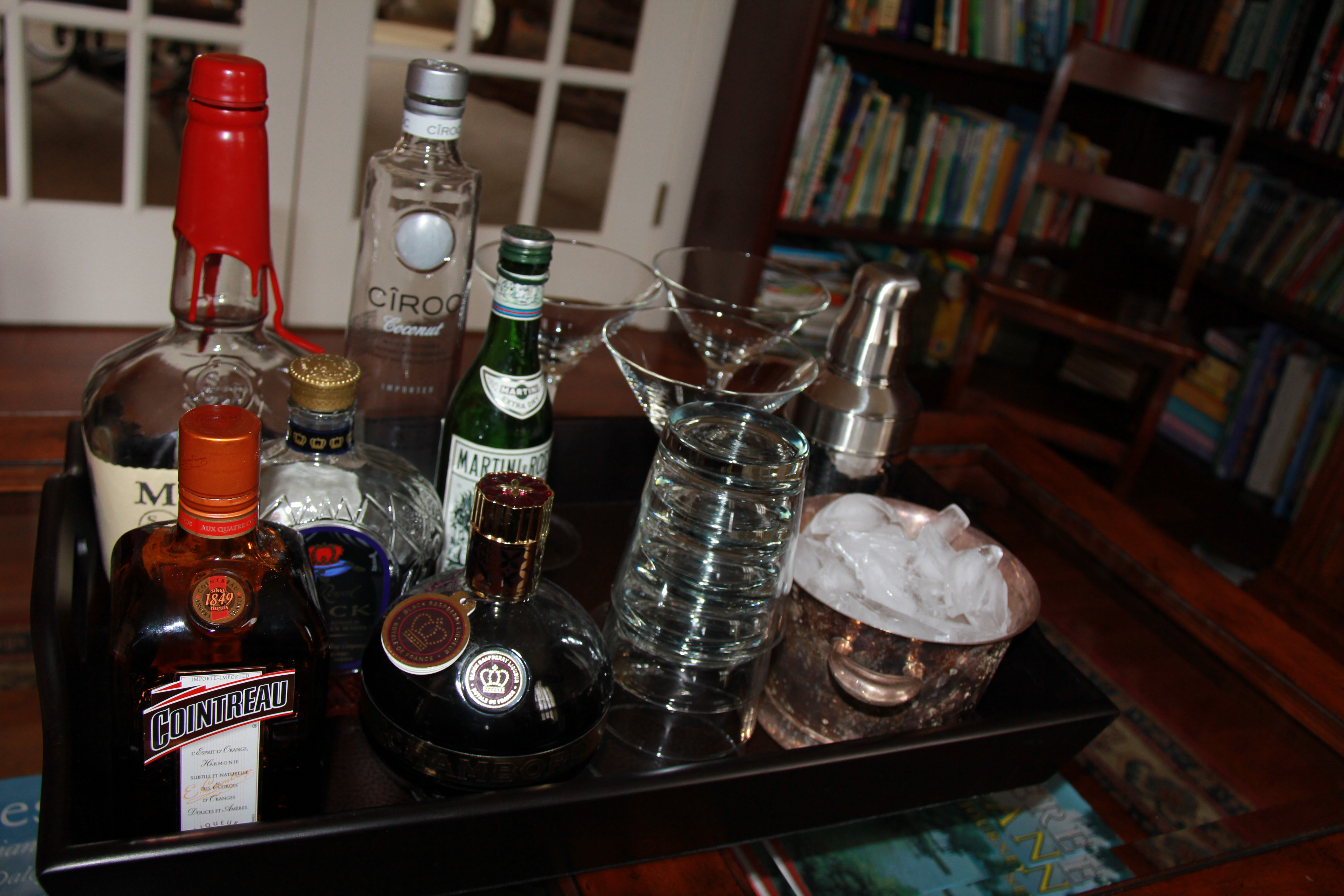 raising the bar the essential bar tray  sumptuous living - bar tray