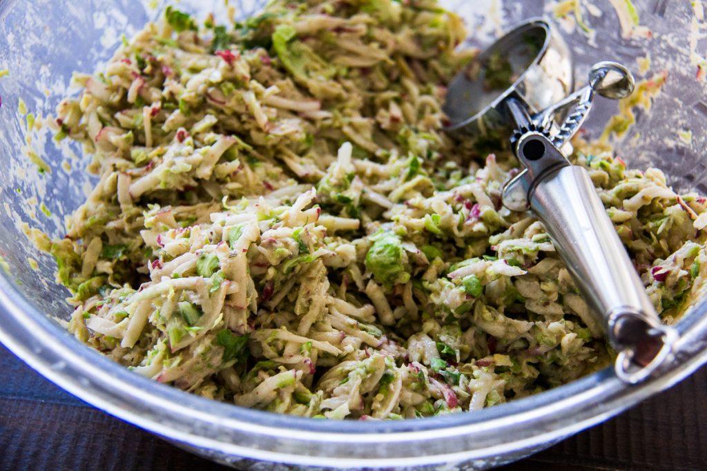brussels sprouts potato latkes 3