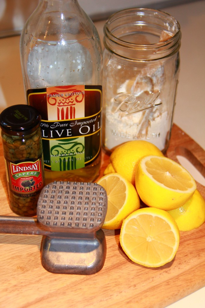Quick Chicken Piccata Ingredients