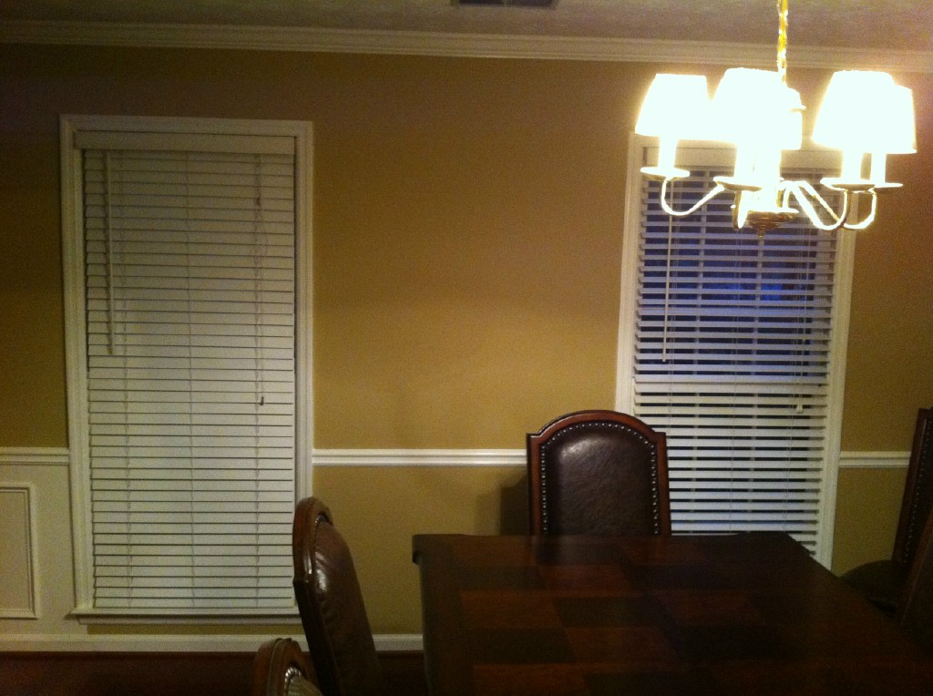 before dining room finishing touches 2