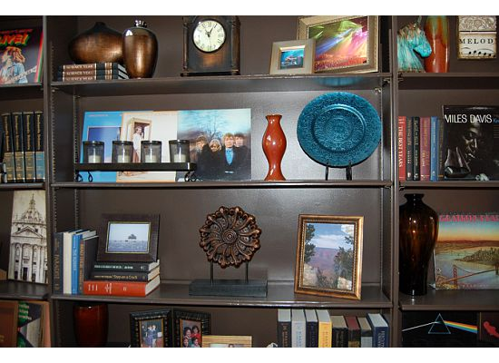 bookcase decorating ideas 9