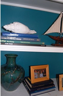 bookcase decorating ideas 4