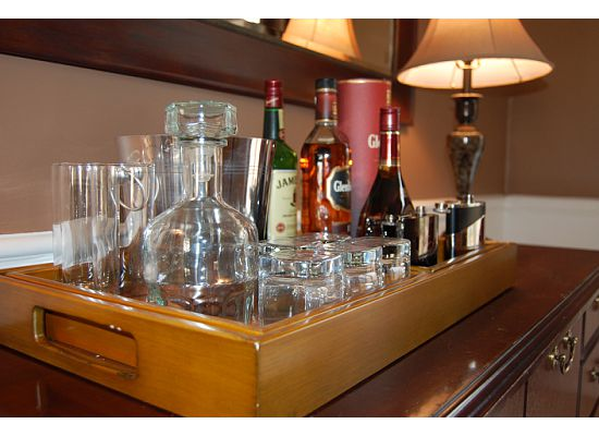 Raising The Bar The Essential Bar Tray Sumptuous Living