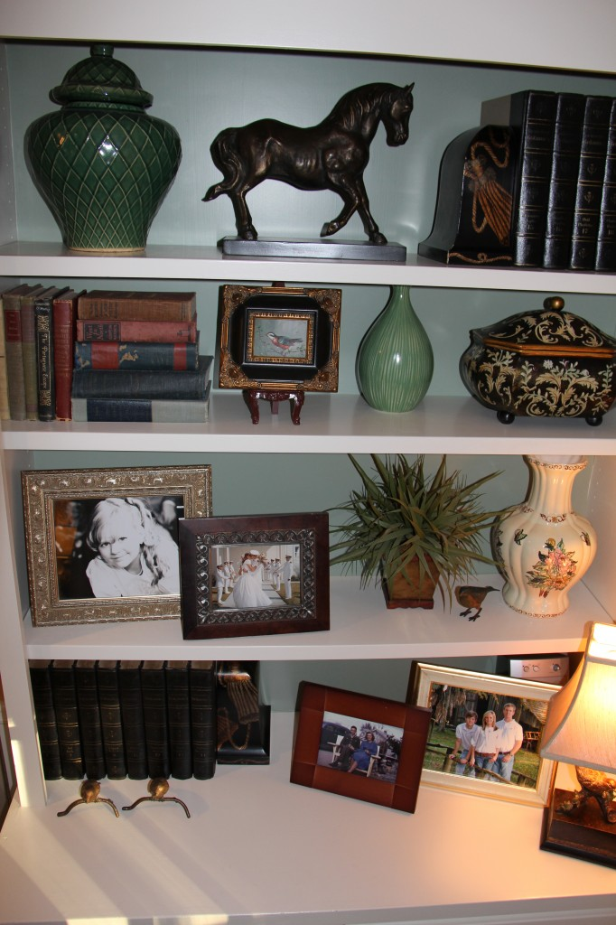 bookcase decorating ideas