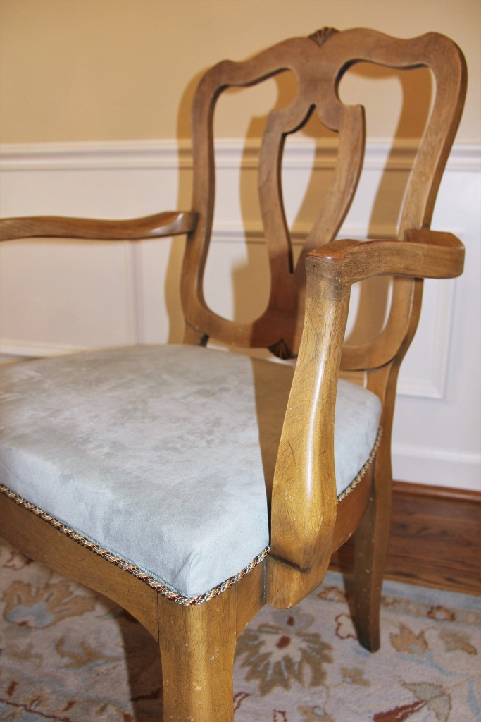 REcover dining chairs antique