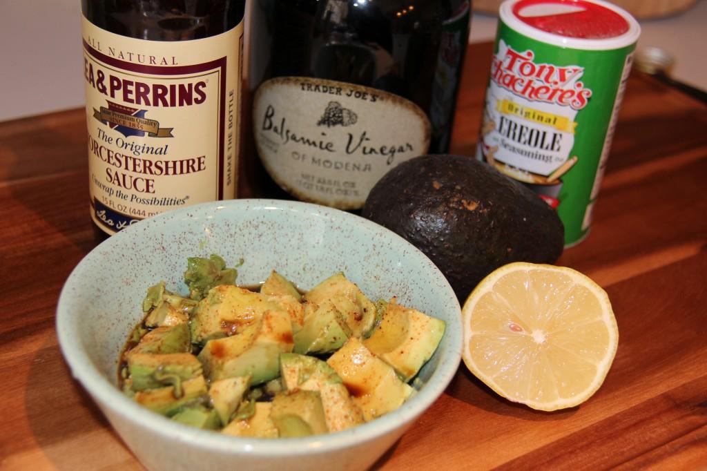marinated avocado ingredients