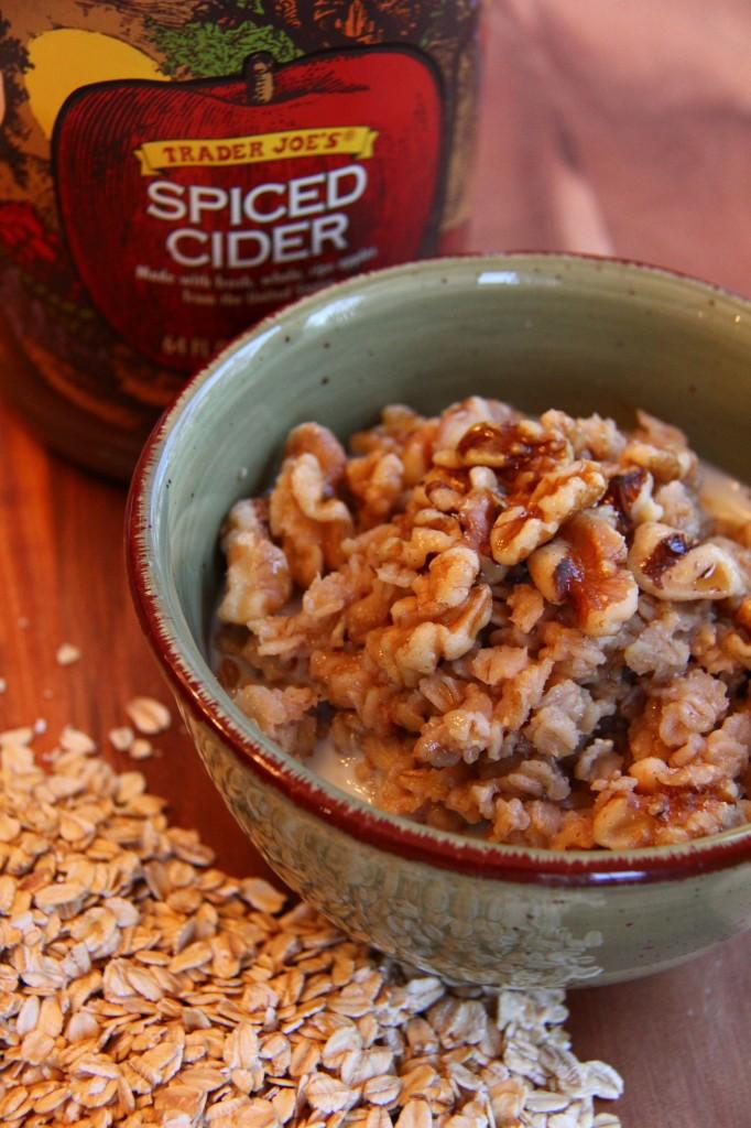 spiced cider oatmeal 2