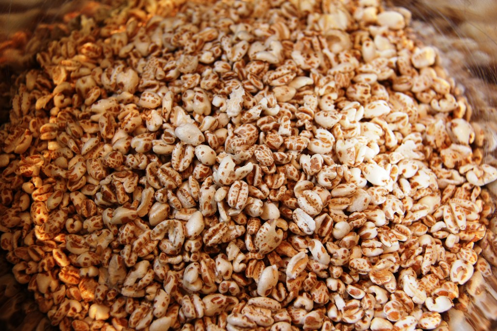 puffed wheat for kid friendly protein bars