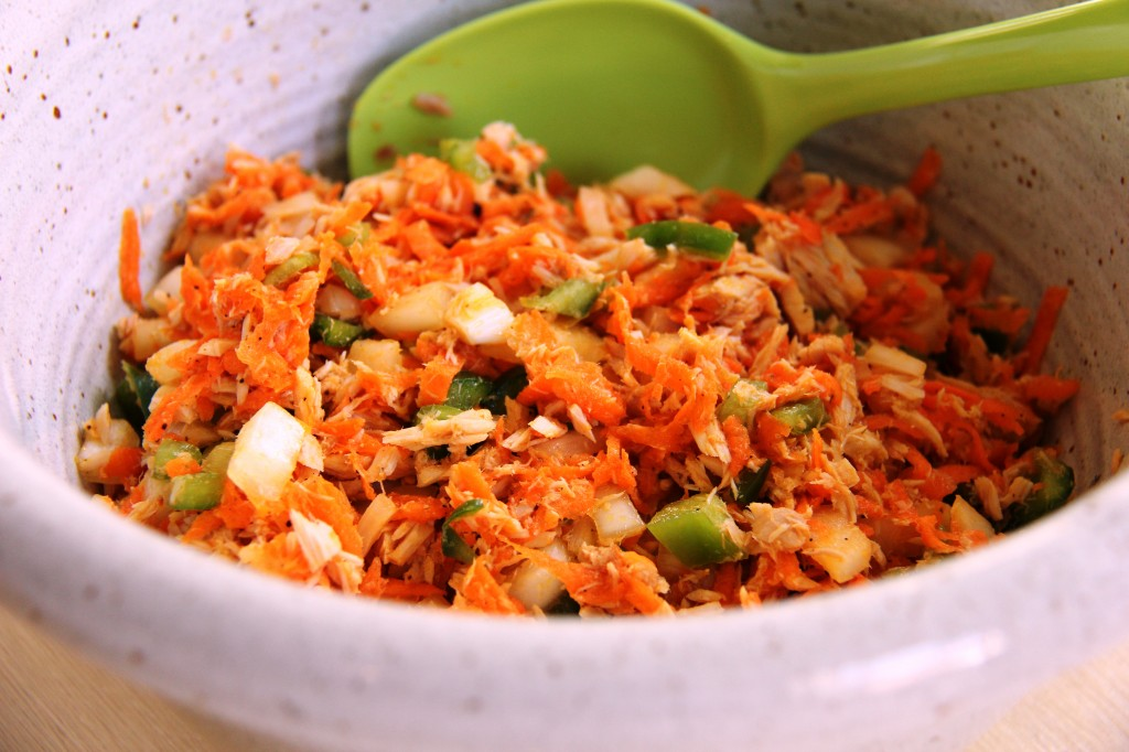 tuna carrot salad 2