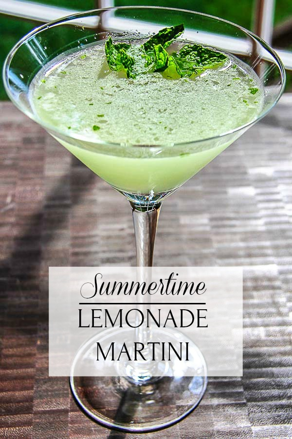 lemonade martini with title