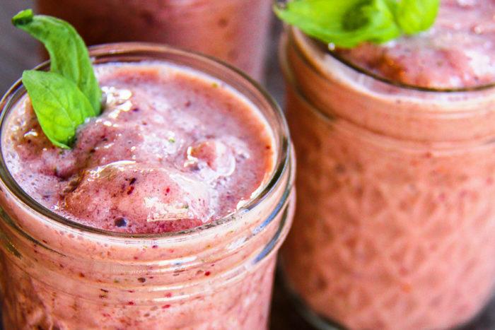 strawberry basil smoothie recipe 6