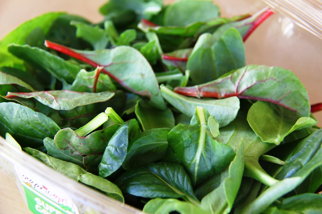 Greens for dark greens smoothie