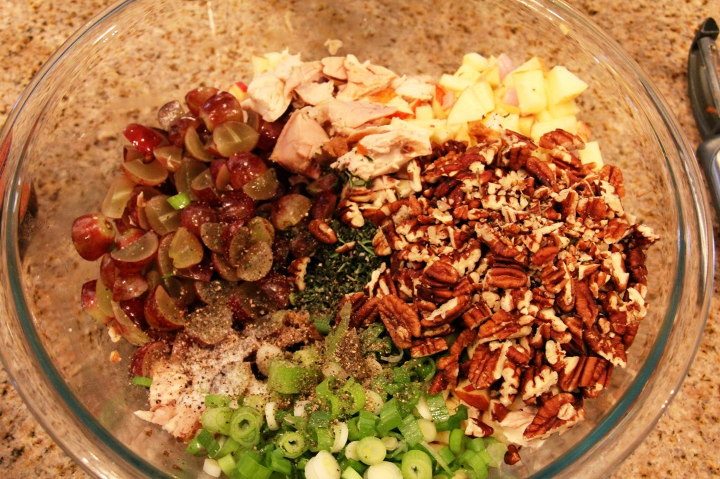 chicken salad ingredients