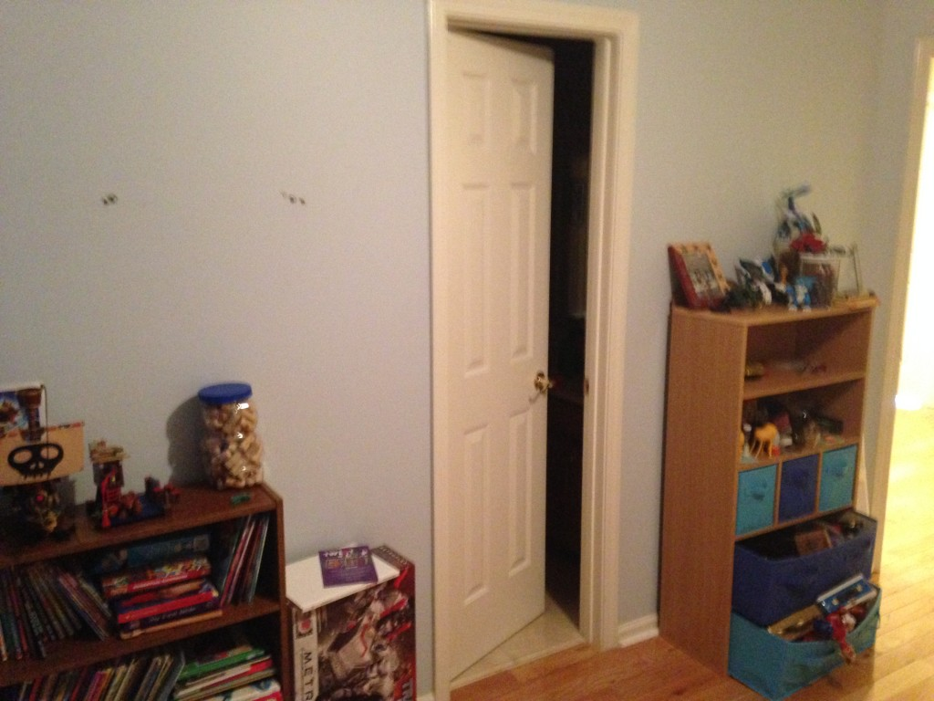 boys robot bedroom before