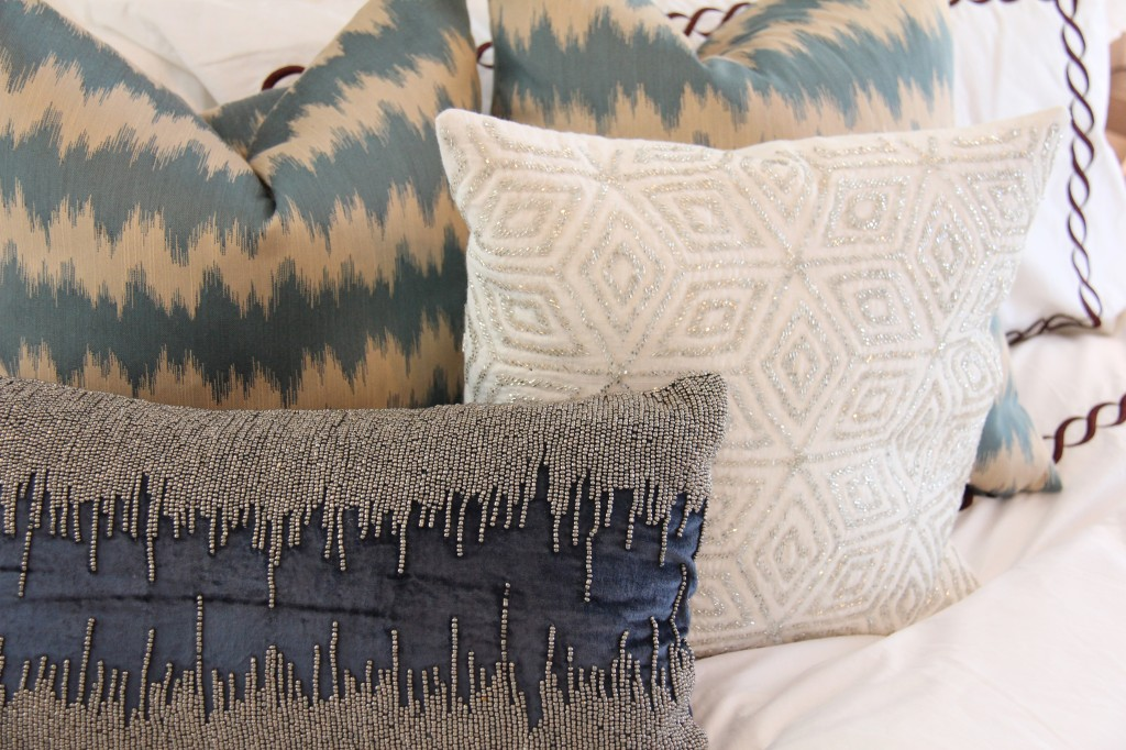 easy bedroom makeover metallics 6