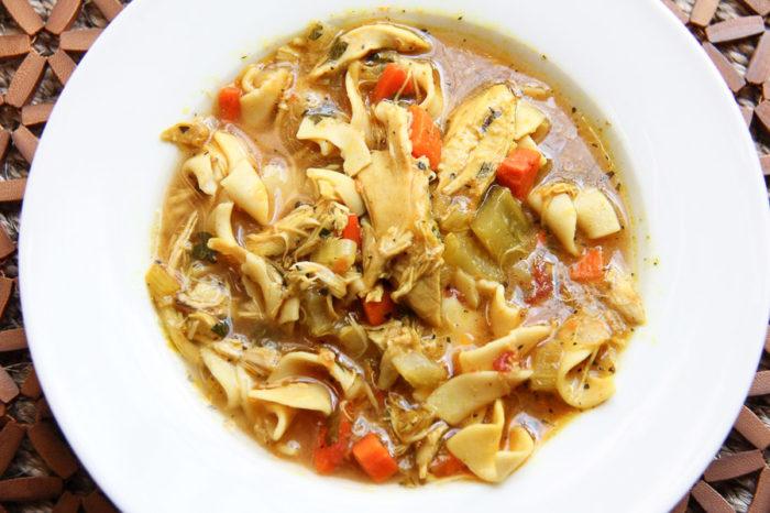 chicken noodle soup recipe 1