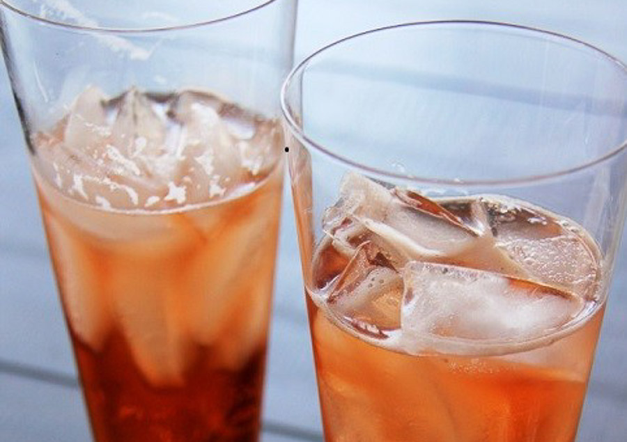 bourbon pomegranate cocktail 2