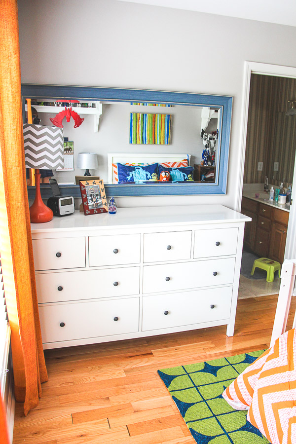 boys robot bedroom dresser