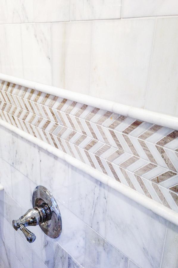 small bathroom remodel tile wall