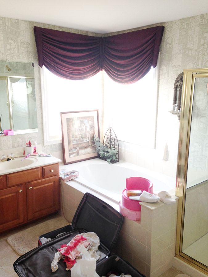 Before Small Bathroom Remodel