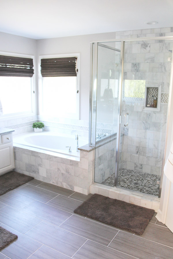 small bathroom remodel done 1