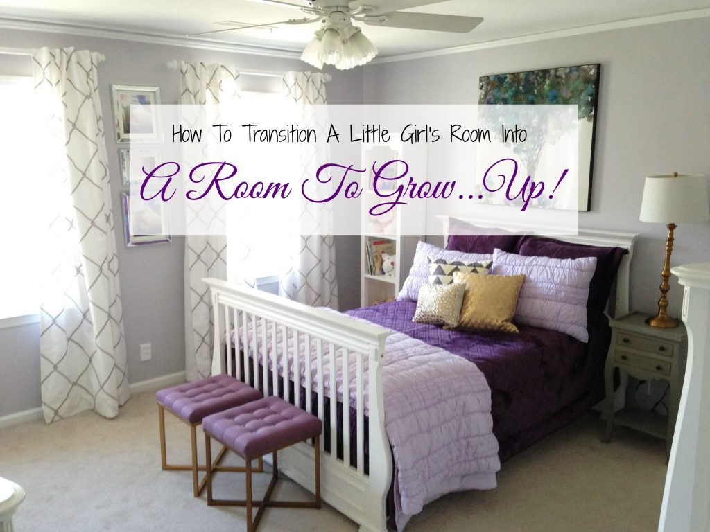 Room to Grow...Up! We Give A Little Girl A Big Girl Bedroom ...
