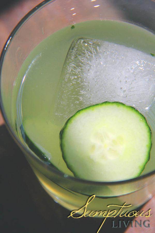 Jalapeno mezcal cocktail