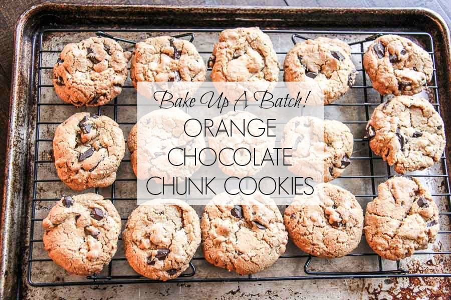 Orange Chocolate Chunk Cookies HORIZONTAL FEAT