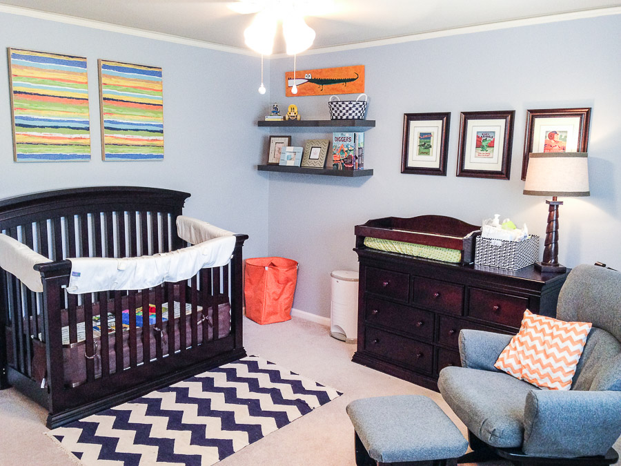 Blue Orange Nursery 1