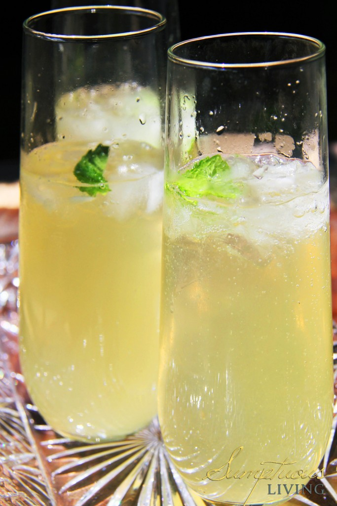 Ginger Julep Champagne Cocktail