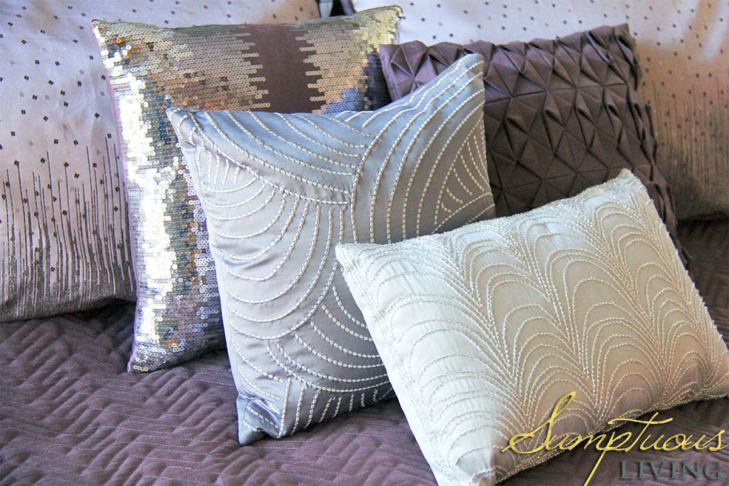 easy bedroom makeover metallics 4
