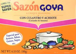 sazon goya for easy chicken and yellow rice recipe