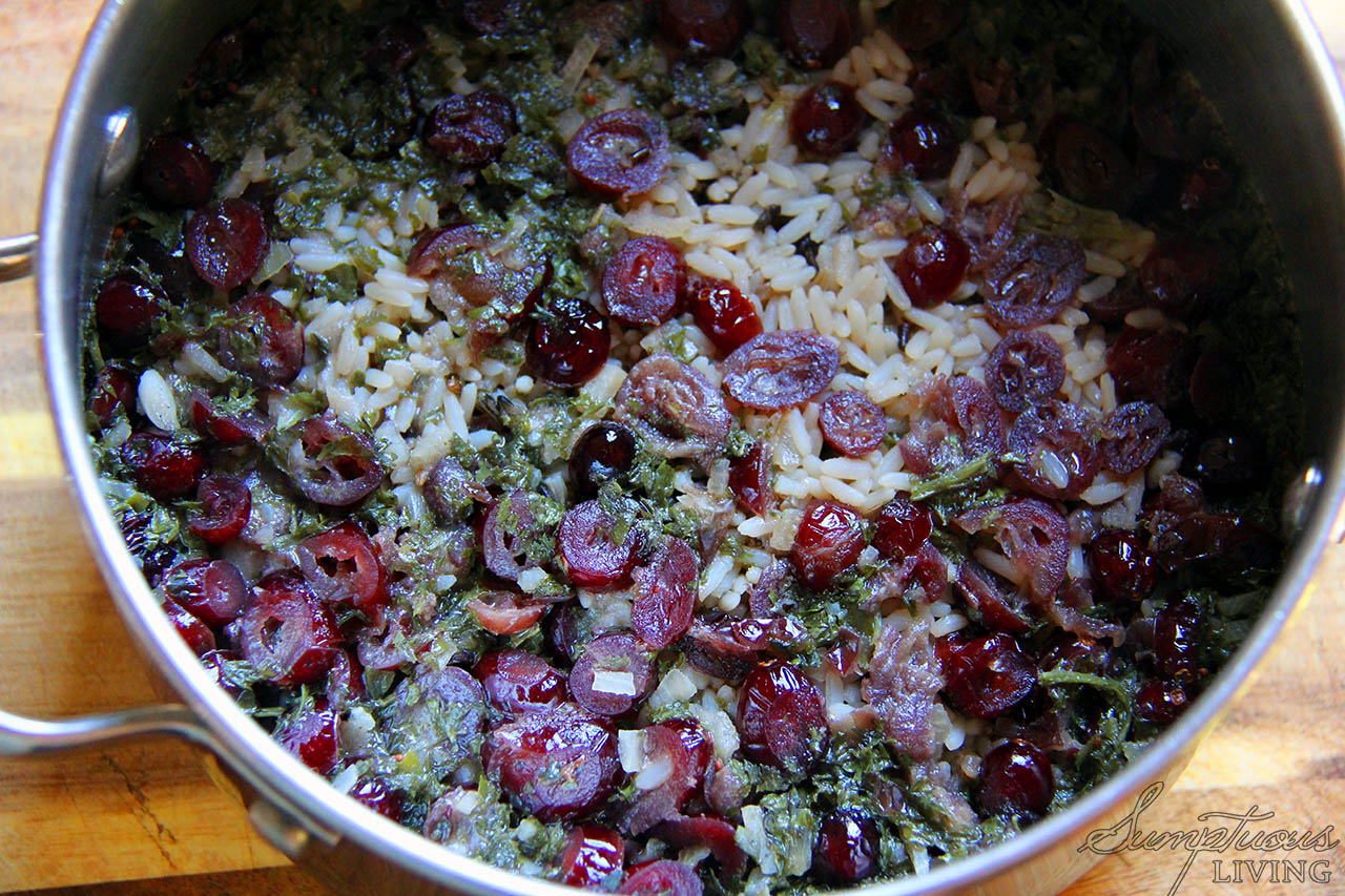 Quick Side Dish! Wild Rice with Cranberries & Walnuts ...