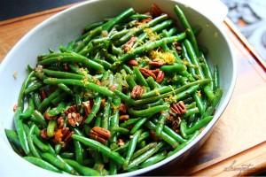 Zesty Maple Bacon Green Beans