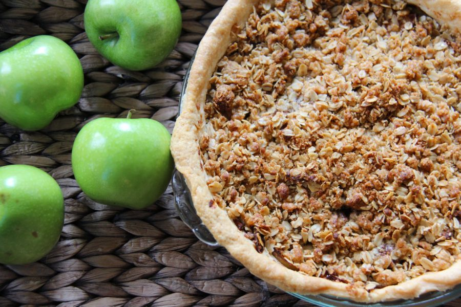 apple crisp pie 2