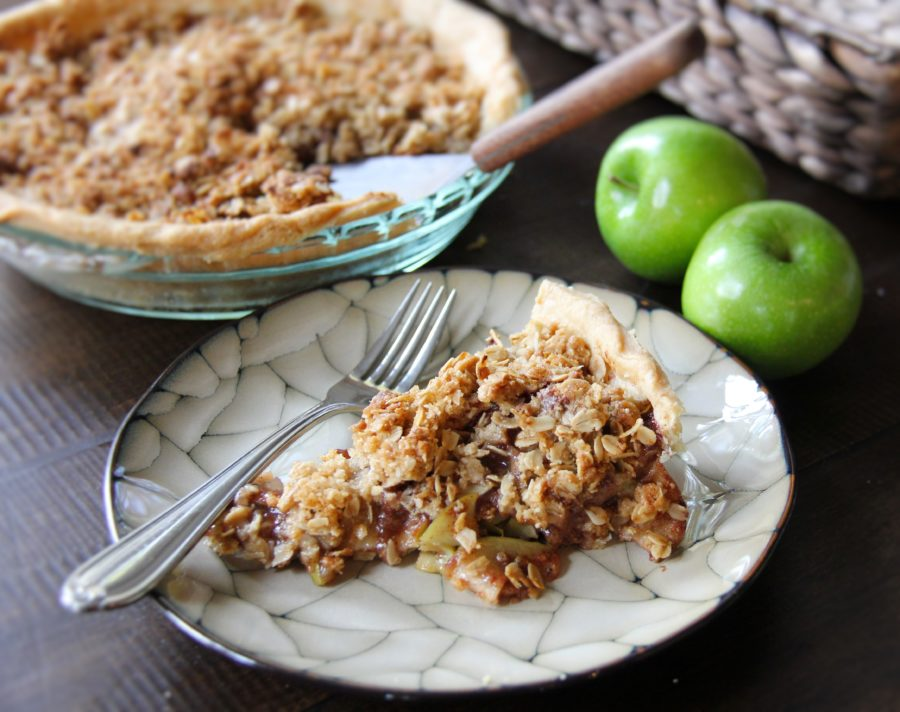 apple crisp pie 1