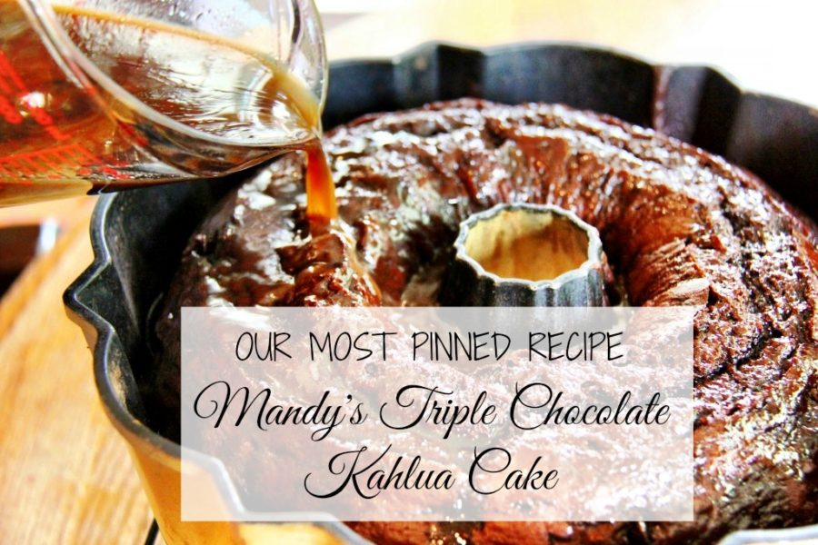 chocolate kahlua cake video