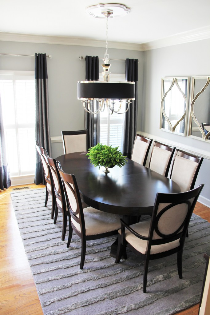 quick dining room makeover 5