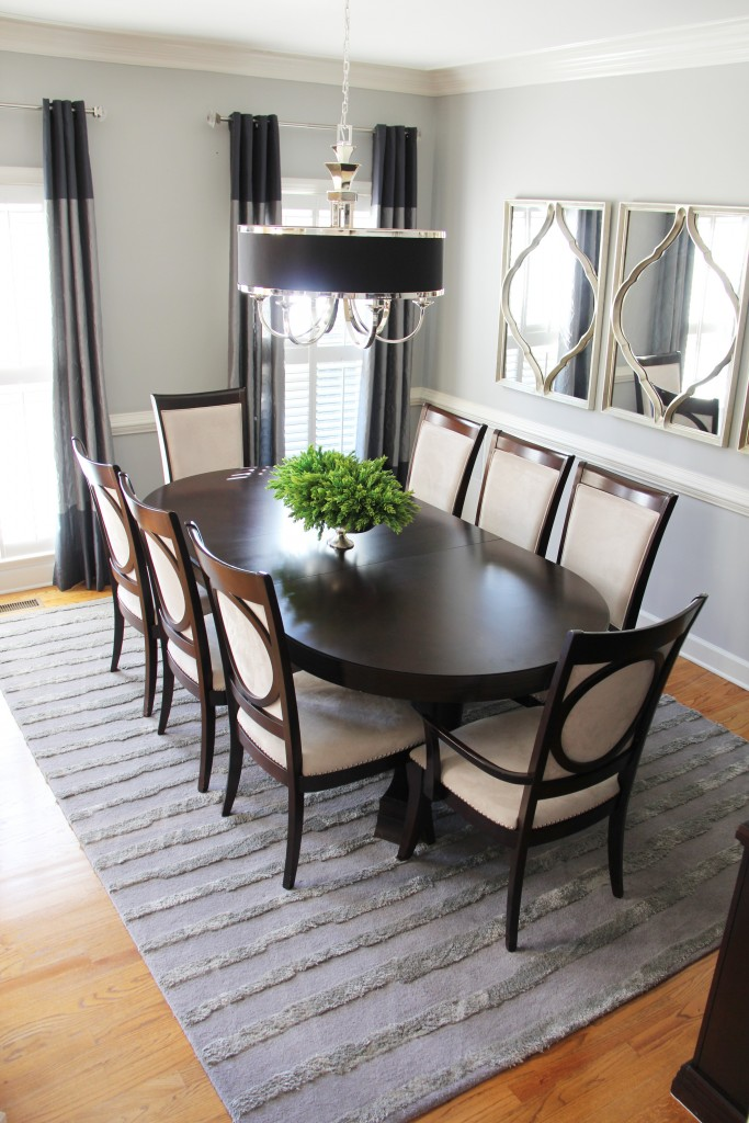 quick dining room makeover