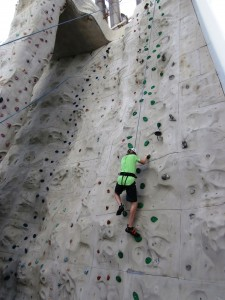 Best family caribbean cruise rock climbing