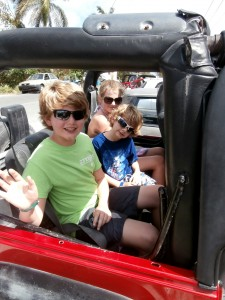 best family caribbean cruise jeep