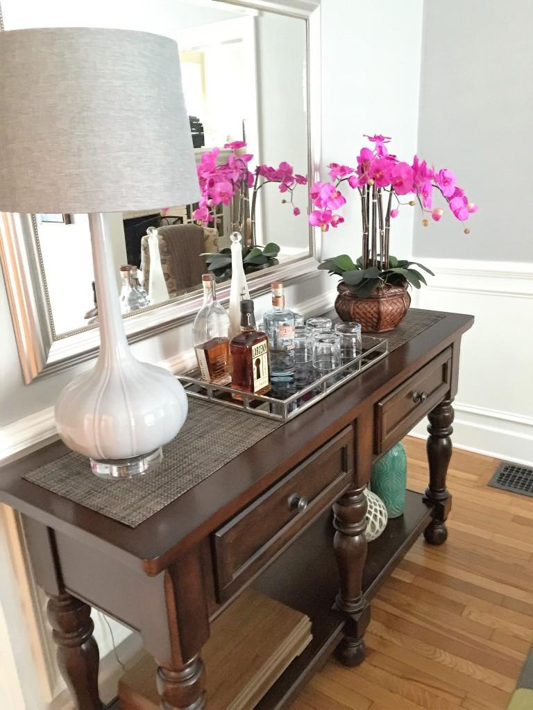 modern craftsman dining room sideboard