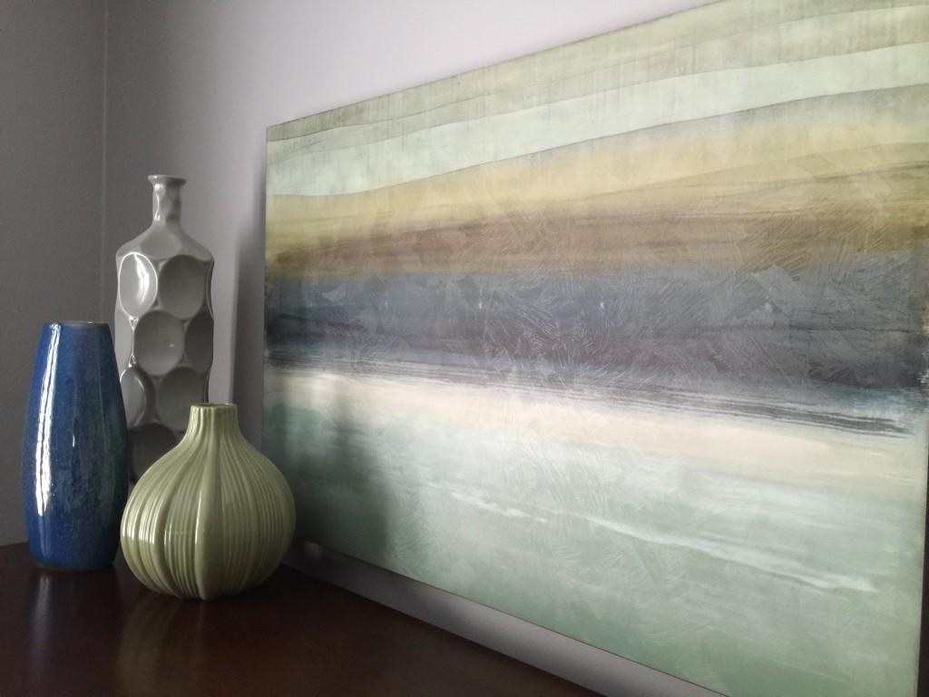 modern craftsman dining room art 4