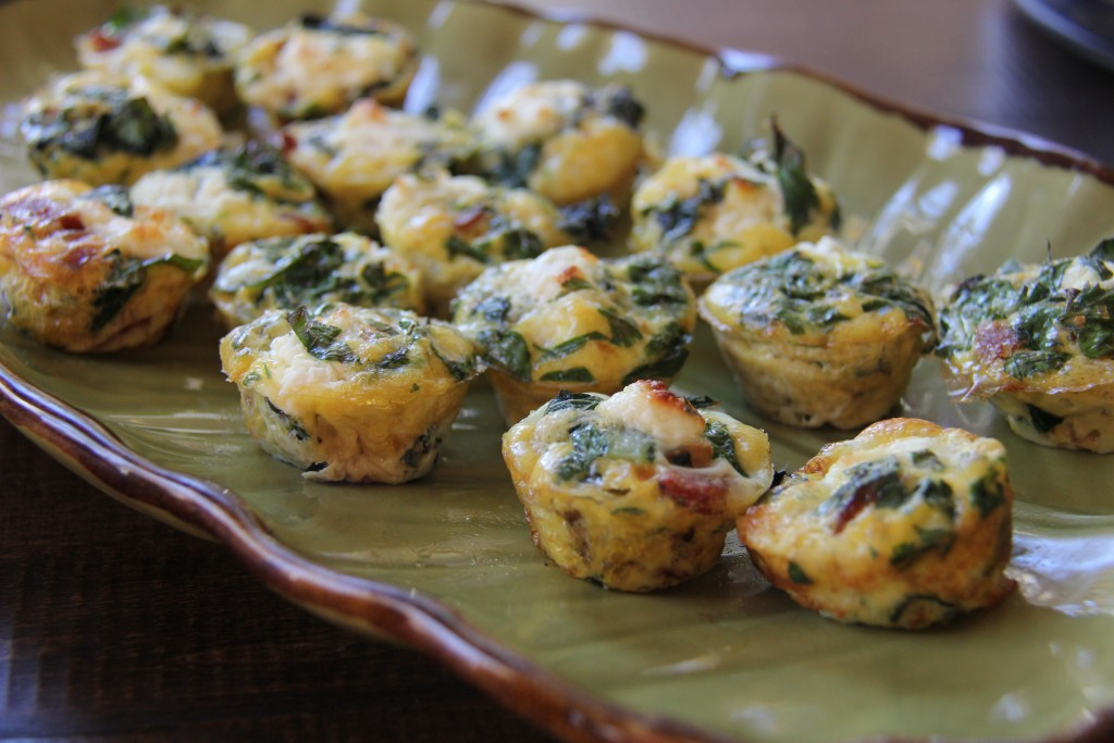 Fresh, flavorful and full of good protein, our frittata bites are the perfect breakfast snack.