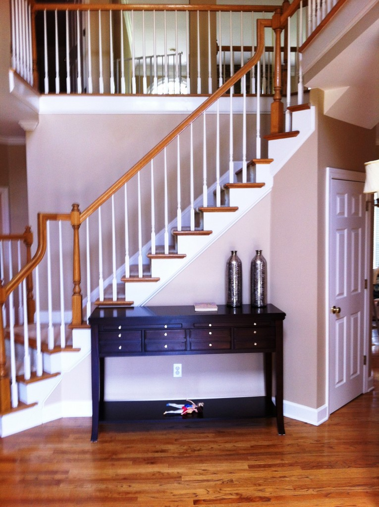 decorating a tall entryway 3