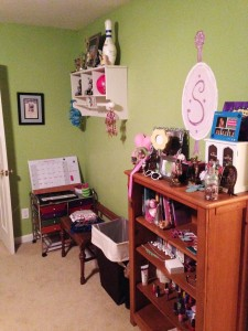 navy coral room before pics 3