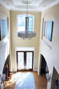 tall entryway design