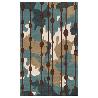 casual dining room rug