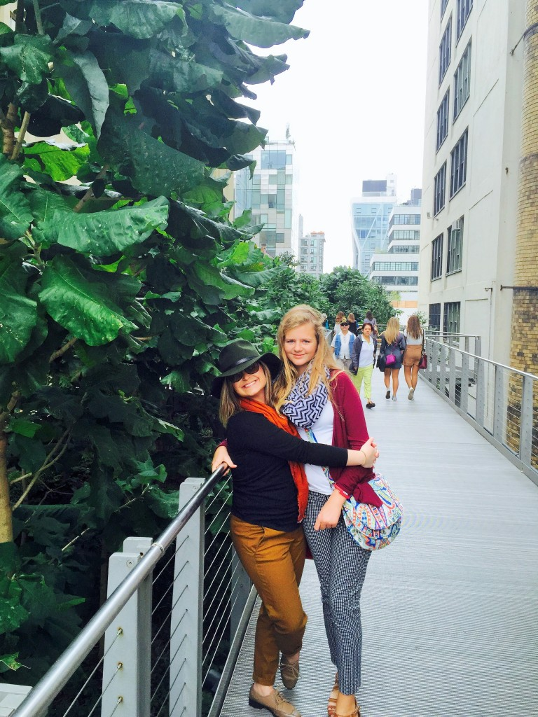 girls trip to new york Highline 3