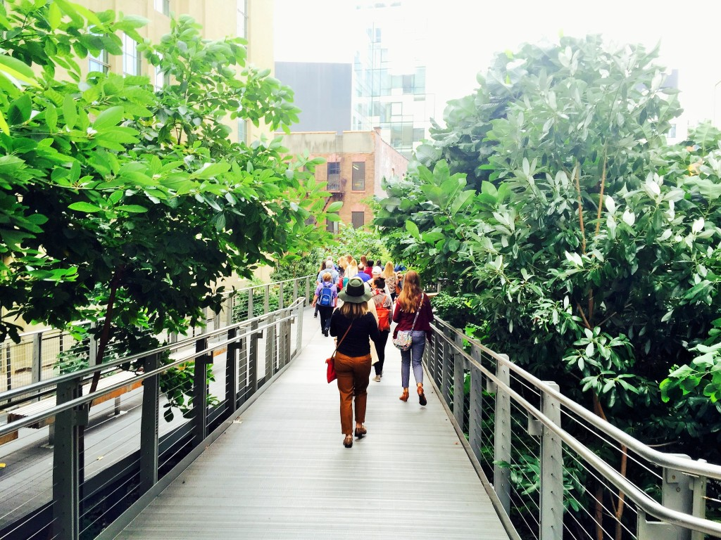 girls trip to new york Highline 8